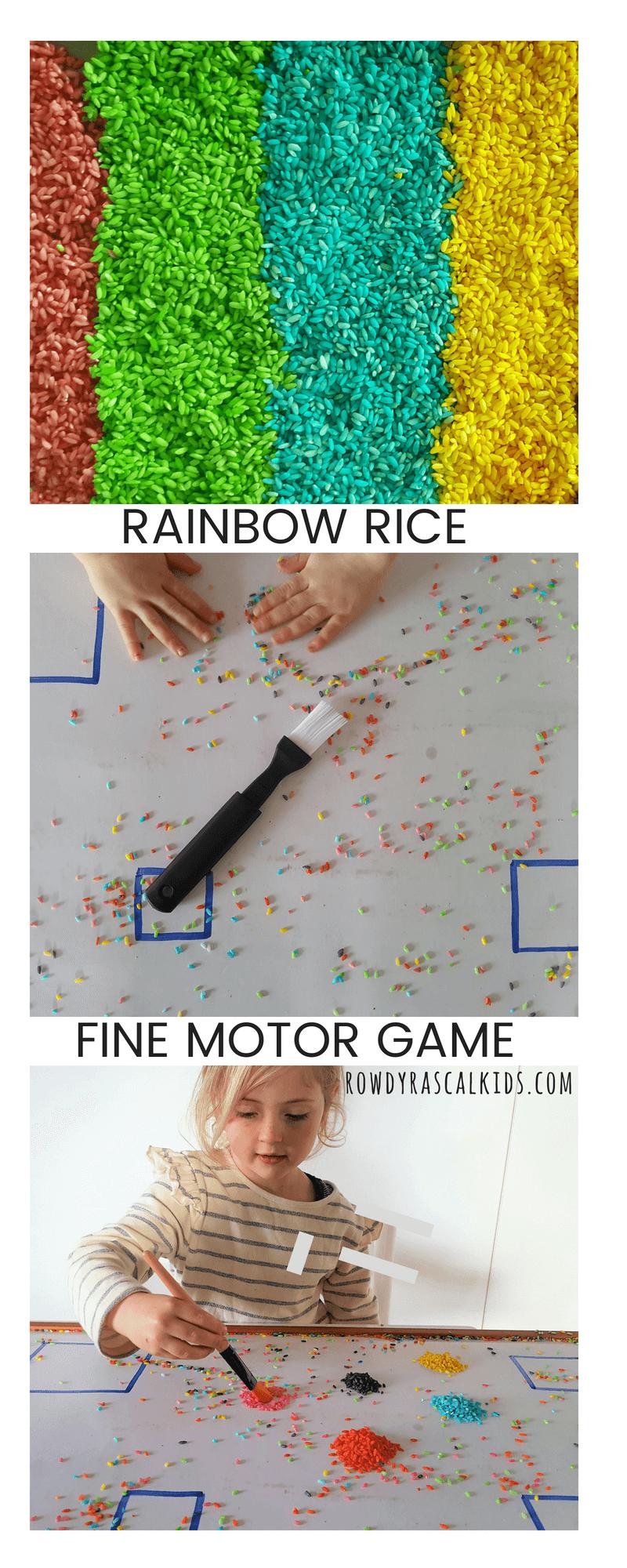 rainbow rice fine motor sweep.png