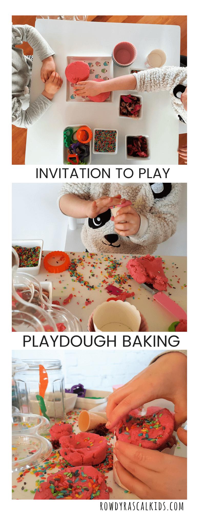 invitation to make cupcakes