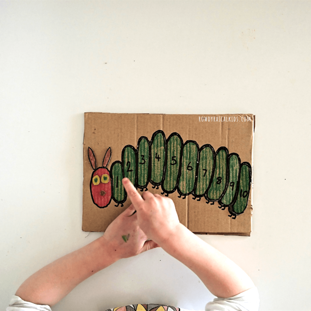COUNTING PUZZLE FOR PRESCHOOLERS