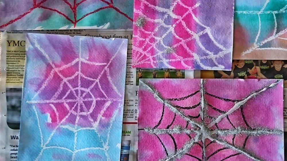 magic spider webs