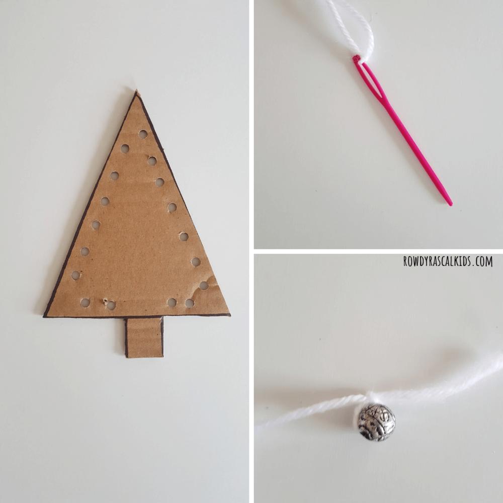 christmas tree threading