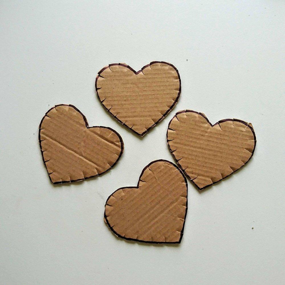 loom band hearts