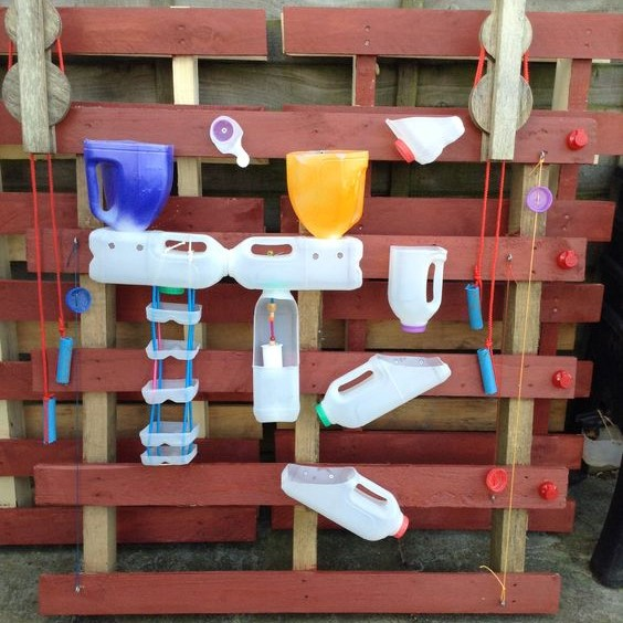 Pallet Water Wall