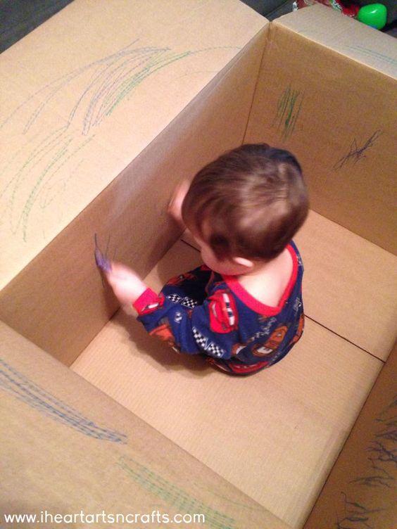 CARDBOARD BOX COLOURING