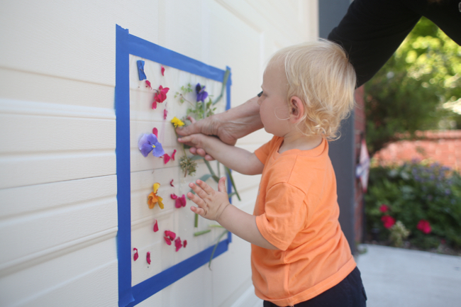 OUTDOOR STICKY MURAL