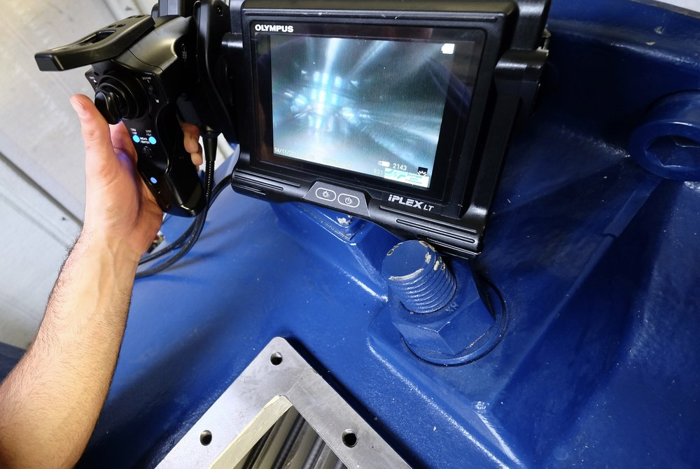 Gearbox Inspections -