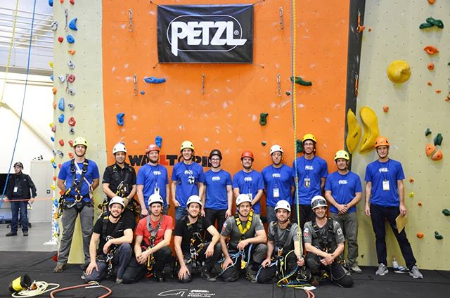 What a day!! Huge thank you to @petzl_official for an amazing event. Impeccably well run. The #petzlropetrip  was incredibly fun, while testing skills and creativity. Big congrats to the RAT team for taking first. Your very own @_geoarc team came away with a very proud 2nd!!! We could not be more happy!! Also, big thanks to @martin.denisov for stepping in. So lucky we had such a skilled technician join us.  Can't wait for the next one in 2020!  #petzlropetrip  #petzl  #ropeaccessprofessional  #rope  #ropeaccess  #access  #accesstheinaccessible