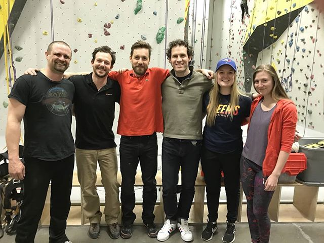 GeoArc Industrial trained and graduated our first SPRAT Level 1 course this past week. A huge thank you and congratulations to the Golder Associates crew! These awesome folks are ready for ropes. All that hard work and practice paid off.  Interested in ropes training? Let's chat!  Thanks to @climbersrock for  being great hosts and letting us use the space.  #ropeaccess #ropeaccessprofessional  #ropeaccesstechnician  #golderassociates  #geoarcindustrial #climbing  #ropetraining  #safety
