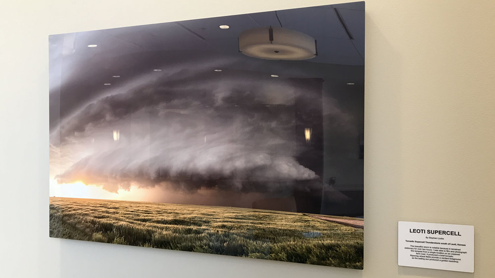 Leoti Supercell in situ at KCB 24 x 36 on metal