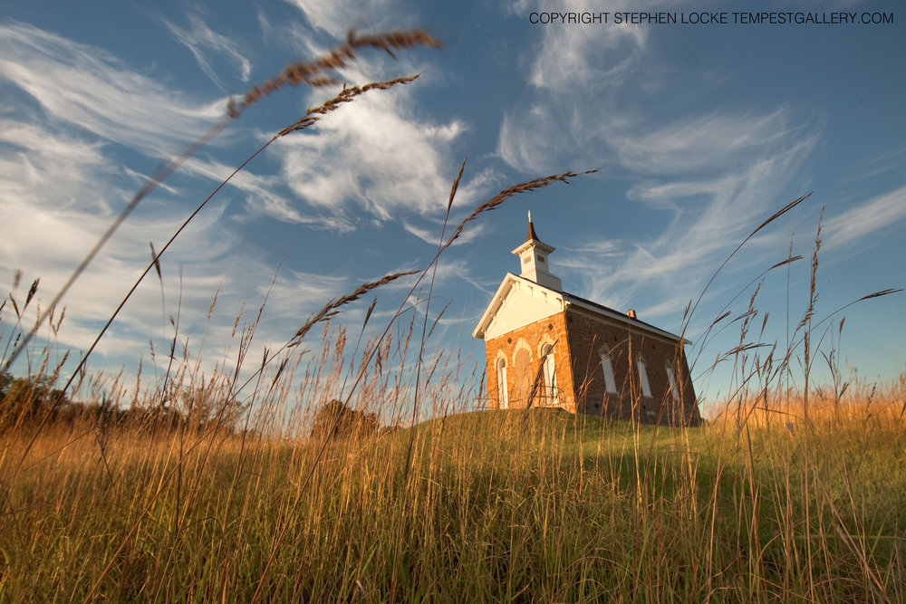 Arvonia Schoolhouse by Stephen Locke