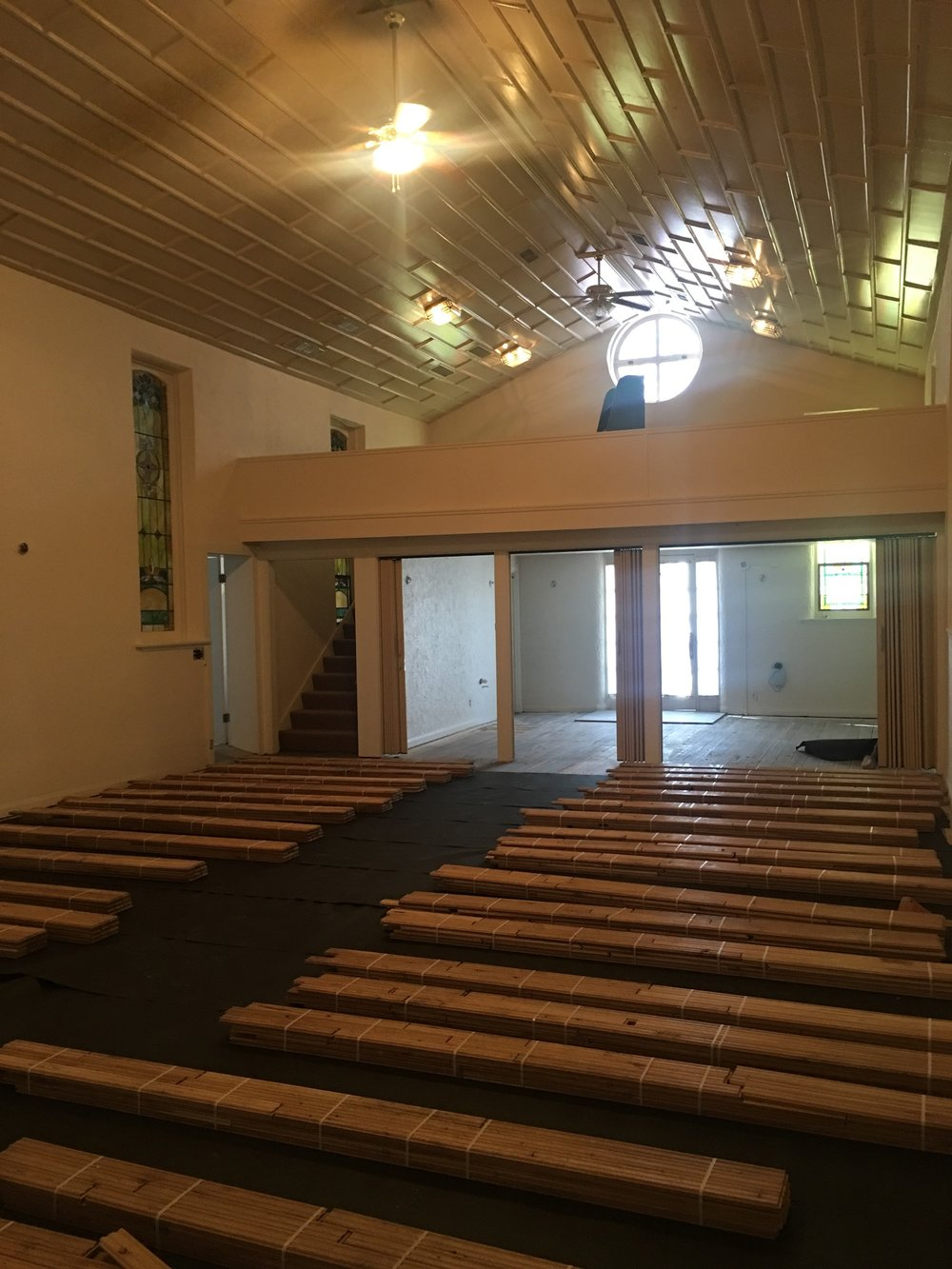Alli Event Center, Brighton Co Sanctuary renovation