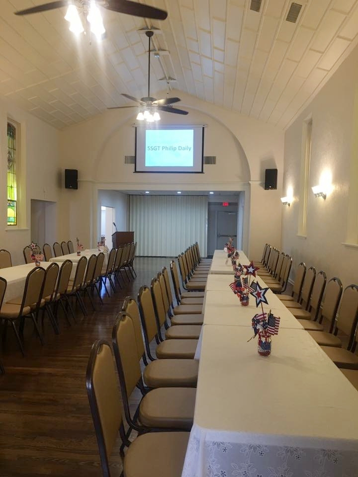 Numerous configurations to accommodate your business or social event.