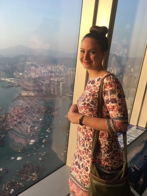 Allison - Our Namesake visiting Hong Kong