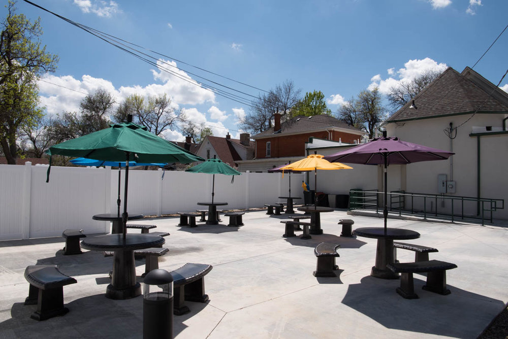 Outdoor Patio Rental Party Hall and Banquet Facility