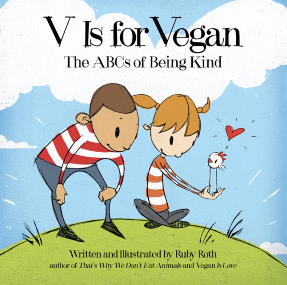 V is for Vegan - Children's Book