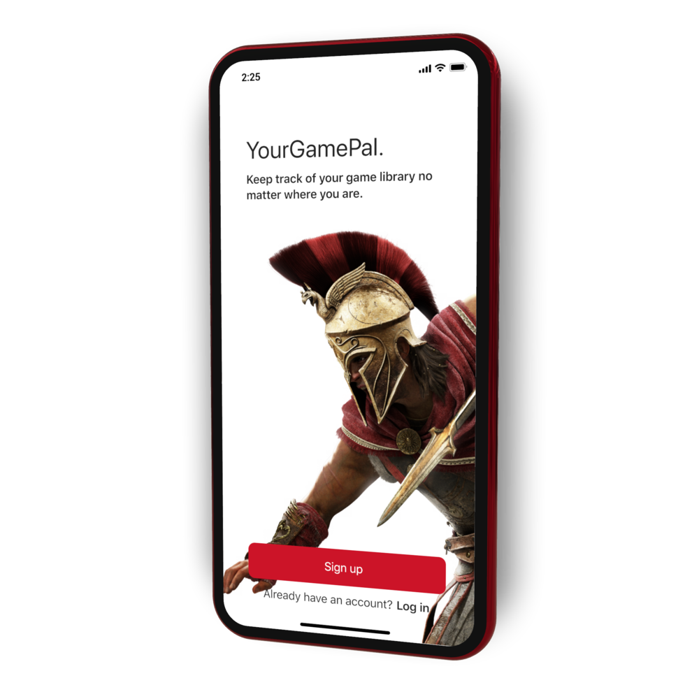 YourGamePal - Gaming Catalog TrackerLearn More