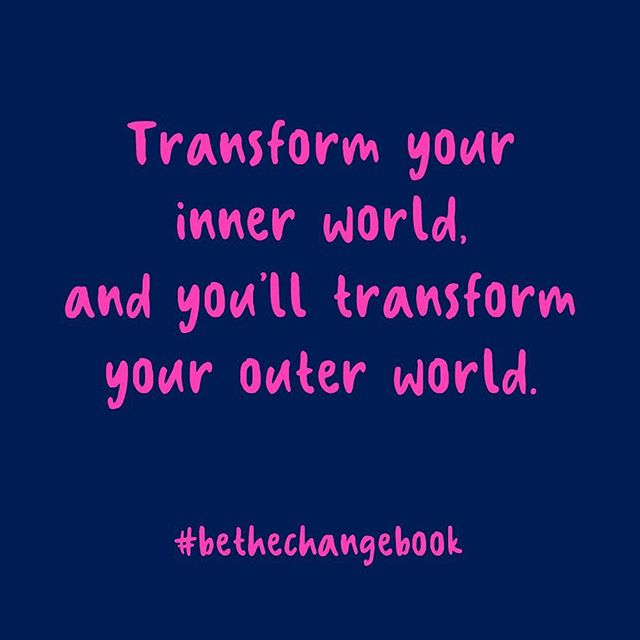 #bethechange can come from within! 🌟🌟