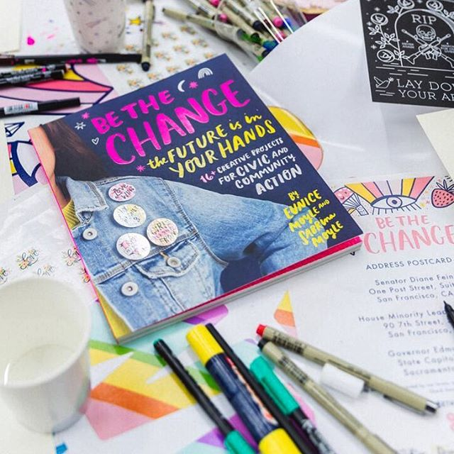 Be CREATIVE this weekend! 🎨✏️#bethechangebook