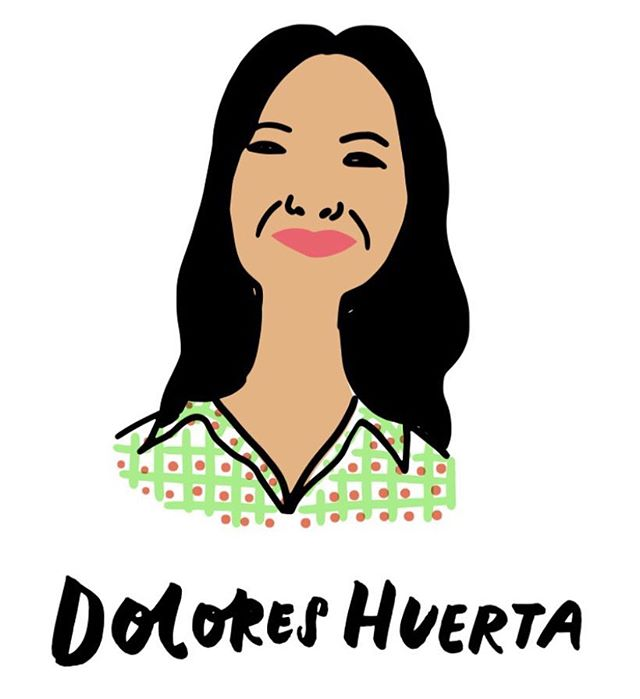 "Change maker spotlight🌟""Every moment is an organizing opportunity, every person a potential activist, every minute a chance to change the world.""--Dolores Huerta #bethechangebook #bethechange #doloreshuerta"