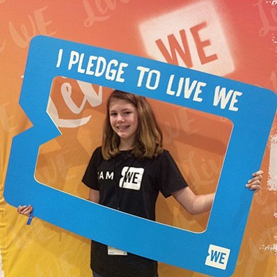 This is Maggie Swanson who at age 14 learned how limited the access to feminine hygiene products is to those in desperate need of them in the U.S and overseas. With the help of @wemovement WE'S Youth Council, she pitched her Plenti-FEM campaign idea to business leaders and philanthropists. She recieved 20 boxes of these products and a financial commitment from the Walgreens executive. 💡Maggie's story is a remarkable example of how even small actions can make an amazing difference! 👏🏻🌟 Follow this link to read the full story: https://www.we.org/stories/chicago-teen-gathers-feminine-hygiene-products-for-homeless/