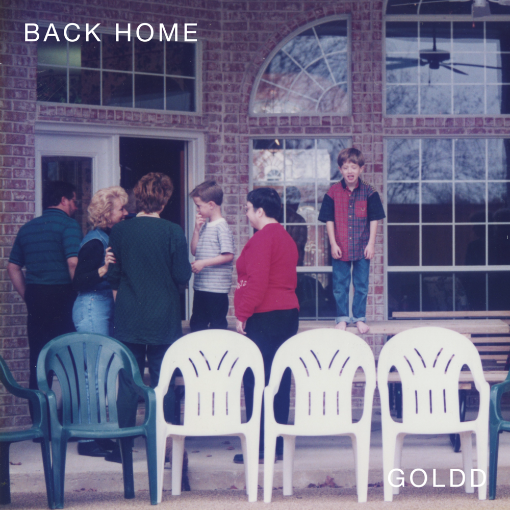 Back Home, by GOLDD, to be released on Look Up Records on 1/1/2018.