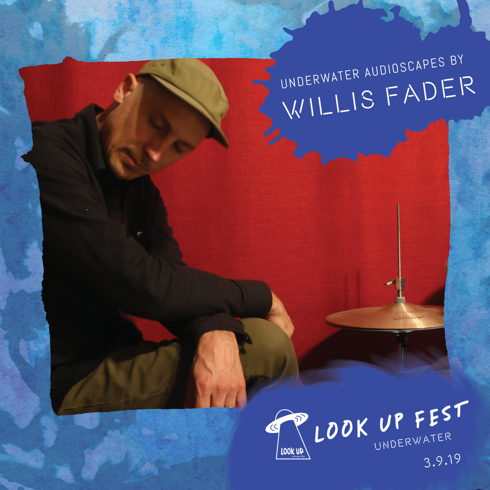 WILLIS FADER - Willis Fader is your friend. He's here to help you have a better soundtrack while engaging in life's various activities. Yes. That's right. Just chill. Think. Feel. Focus. Converse. Share moments with friends and loved ones. Let the sensuous beds of Willis Fader audioscapes enmesh your world. At LUFU, Willis Fader will create liquid soundscapes between sets.