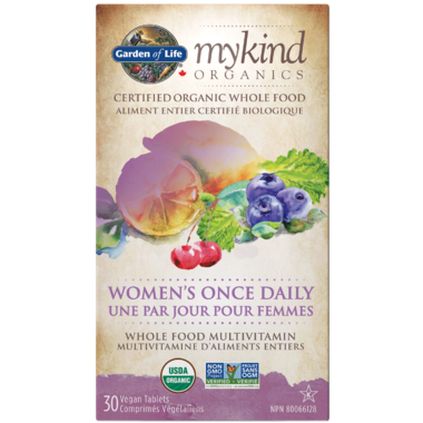 garden of life mykind organics womens once daily multivitamin - Garden Of Life Multivitamin