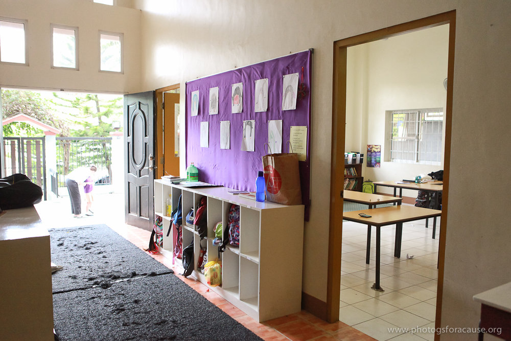 Building and facilities development - Project: Pag-asa has outgrown its current location. For three years we have occupied the ground floor of a private residence, adding a container classroom to the parking/play area With 42 students, grades K-10 in a 200 square meter facility, we have no room to grow.Give to our building fund through Action International Ministries