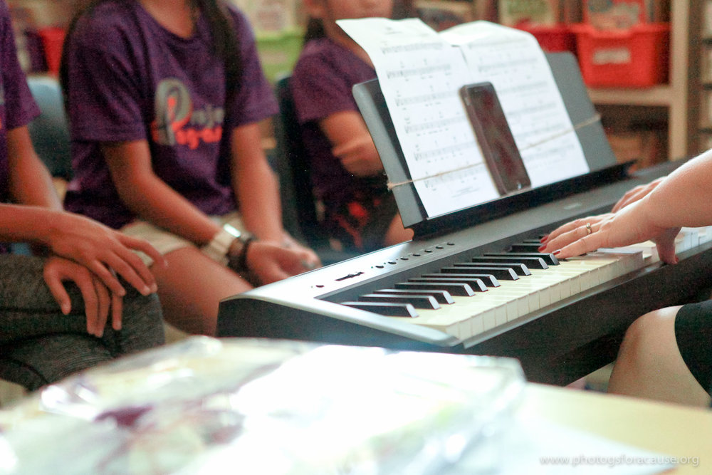 Diverse - Project: Pag-asa offers curricular enrichment, such as music, art, and PE.