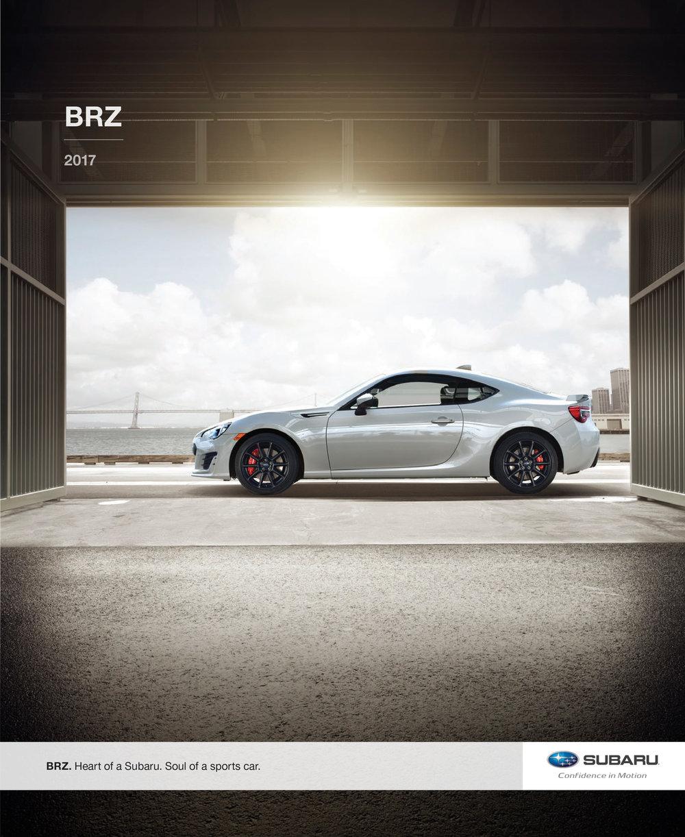 2017 Subaru BRZ Brochure