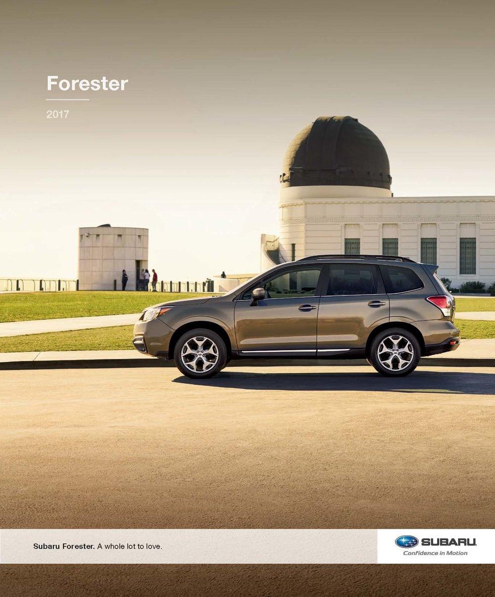 2017 Subaru Forester Brochure