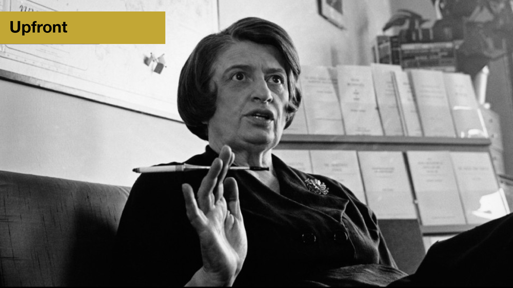 Meet the Enemy: Ayn Rand - The learnings of Atlas Shrugged were dangerous in the 50's—and they are today. They've done great damage to America.