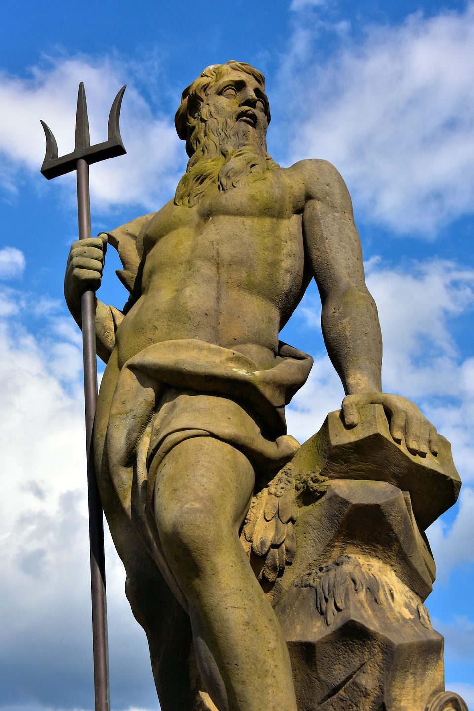 Poseidon aka Neptune, god of the sea, earthquakes, and horses.