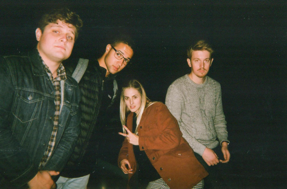 Haiva ru band consists of Shane McCarter (electric), Derrick Marzano (drummer), Allie Merrill (lead singer) and Kai Sheets (bass).