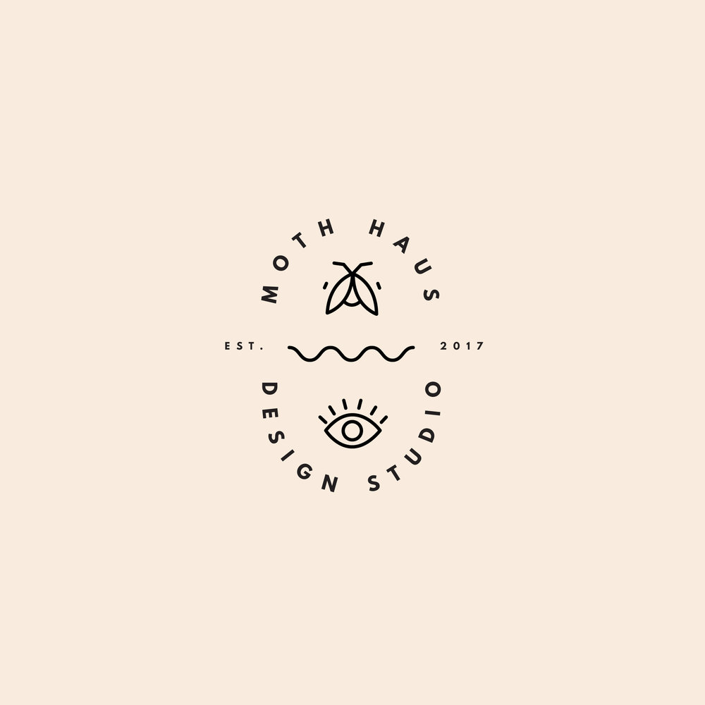 - Moth Haus Brand Identity