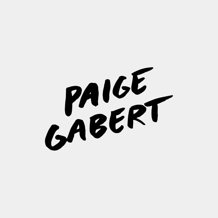 - Paige Gabert Name Illustration