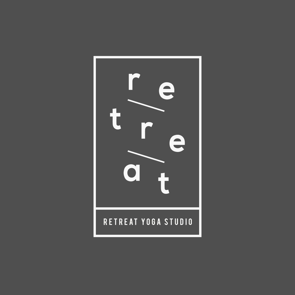 - Retreat Yoga Studio Logo