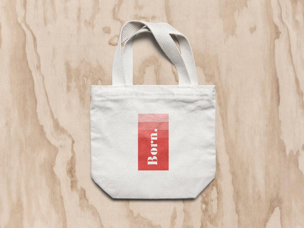 - Born Athletic Wear Logo Design