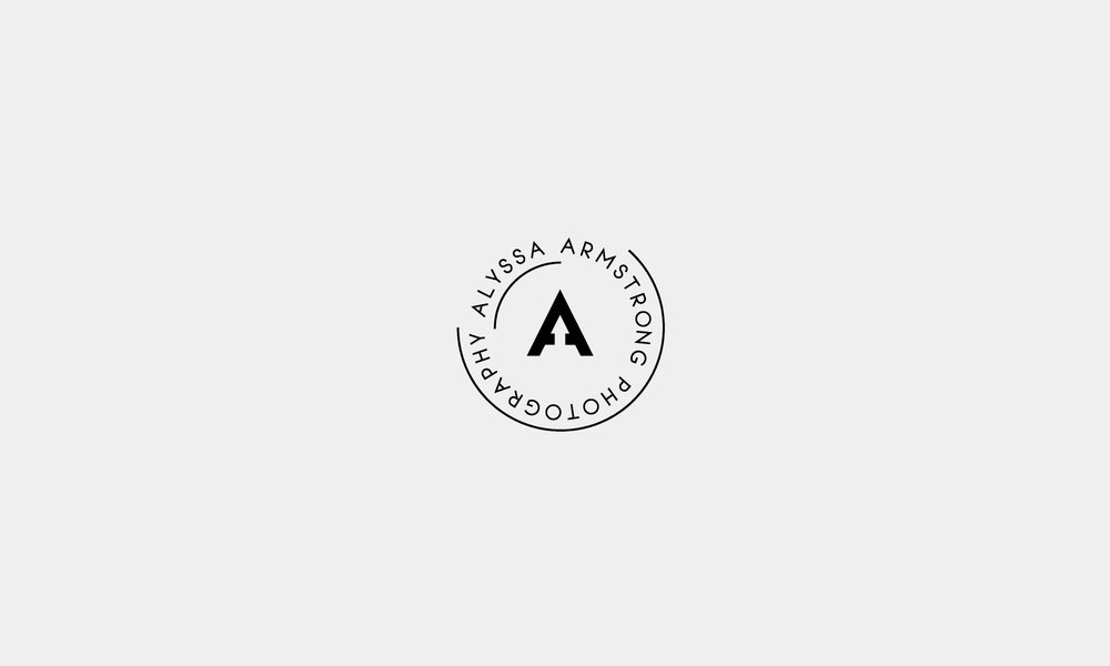 - Alyssa armstrong photography Logo Design