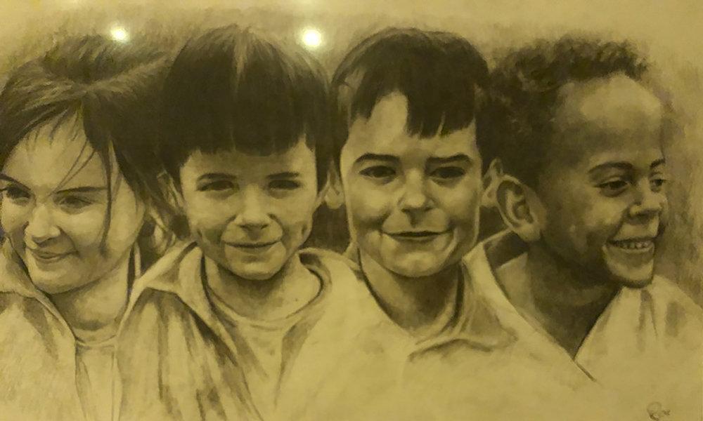 The O Connor kids Polycromo pencils