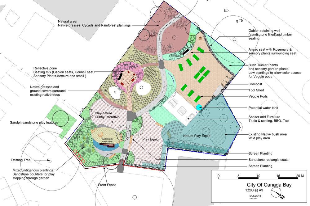 Rhodes Park Concept Design