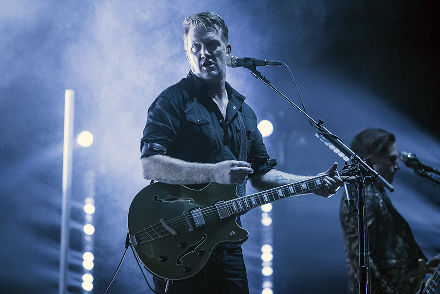 Josh Homme, frontman and guitarist of Queens of the Stone Age, performs in London, ON.