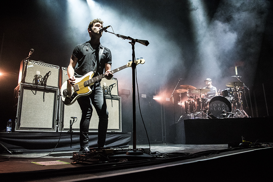 Mike Kerr and Ben Thatcher, of Rock duo Royal Blood, open for Queens of the Stone Age in London, ON.