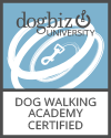 Why Hire A Certified DogTec Dog Walker?