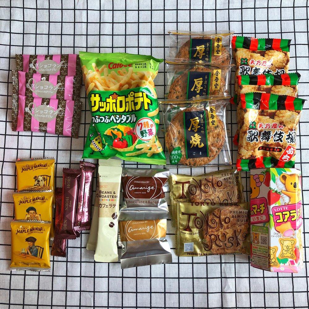 bokksu japan snacks subscription