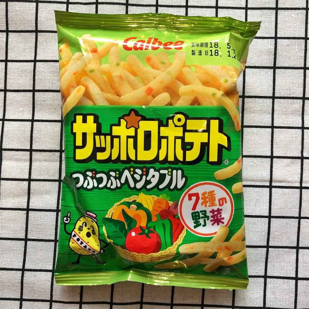 calbee vegetable potato sticks