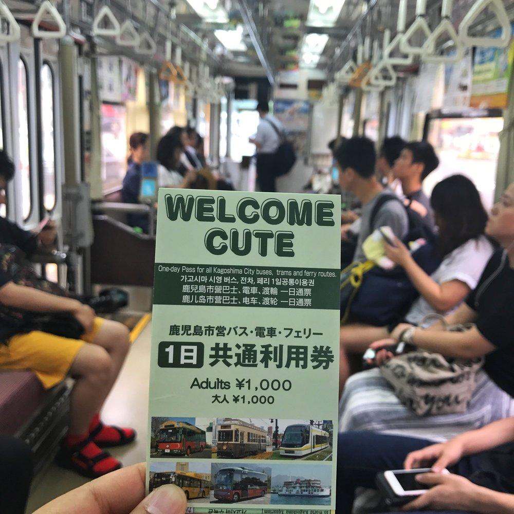 welcome cute pass Kagoshima