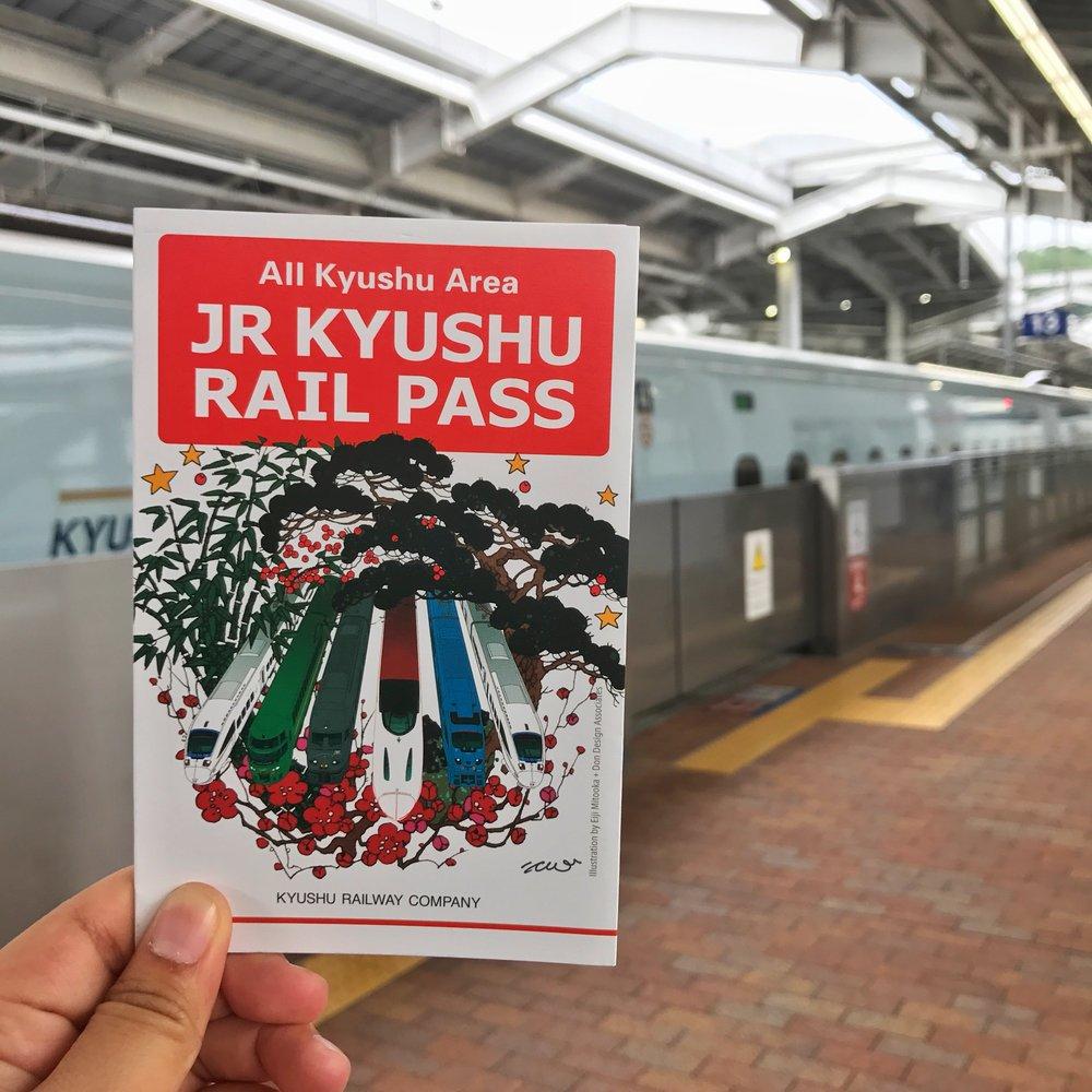 JR pass Kyushu