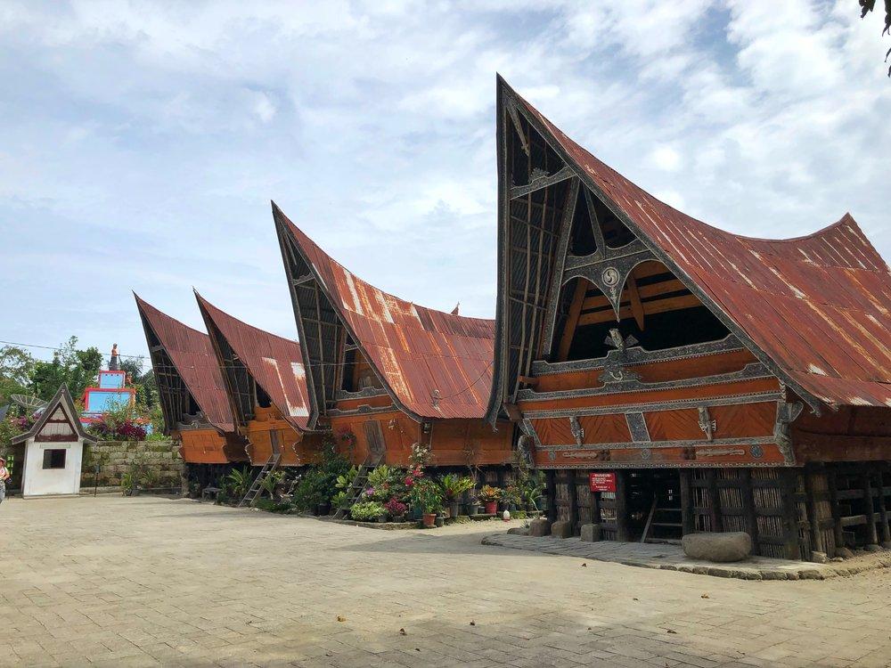 samosir island Batak museum