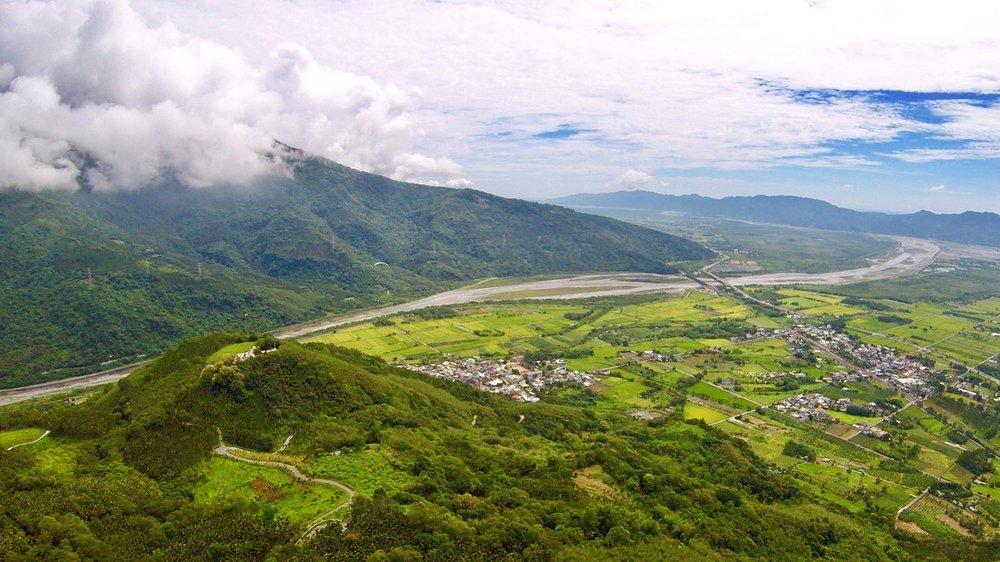 paragliding hualien east valley